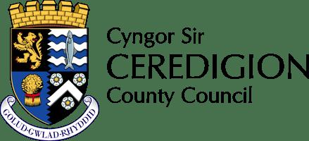 Logo Cyngor Sir Ceredigion County Council Logo